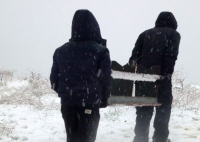 TRANSFER UNDER SNOW